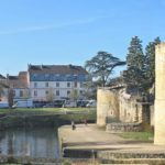 Château de Brie-Comte-Robert - Le château dans la ville - Lice sud-est -- © ADVC Brie